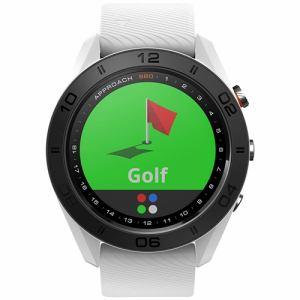 GARMIN アプローチS60ホワイト GPSキャディ ApproachS60 腕時計型 ホワイト