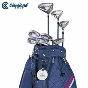 クリーブランド Cleveland ゴルフ セットクラブ レディース BLOOM PACKAGE SET ブルーム パッケージセット 8本組 キャディバック付