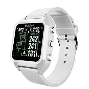 ショットナビ GPSゴルフナビ ウォッチタイプ(ホワイト) テクタイト ShotNavi 心拍・活動量計測機能搭載 HUG(W)