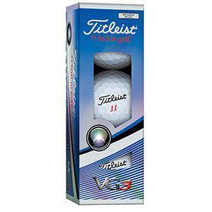 タイトリスト ゴルフボール VG3《1スリーブ(3球)/レインボーパール》