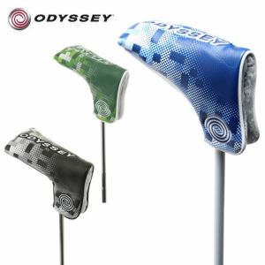 オデッセイ ODYSSEY ヘッドカバー パター用 オデッセイ グラフィック ブレード パター カバー 18 JM Odyssey Graphic Blade Putter Cover 18 JM
