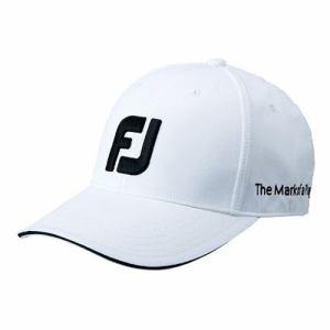 FOOTJOY(フットジョイ)ゴルフ アクセサリー FJベーシックキャップ WT FJHW1801WT メンズ WHT