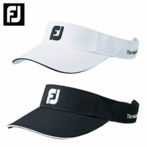 フットジョイ FootJoy ゴルフ サンバイザー メンズ FJベーシックサンバイザー FJHW1802