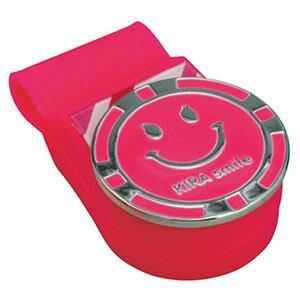 キャスコ KIRA Smileシリコンクリップ&マーカー (ピンク) kasco KICM1817 PK