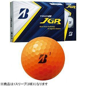 ブリヂストン ゴルフボール JGR《1スリーブ(3球)/オレンジ》 8JOX