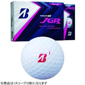 ブリヂストン ゴルフボール JGR《1スリーブ(3球)/パールピンク》 8JPX