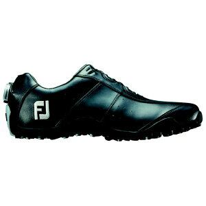 フットジョイ メンズ スパイクレス ゴルフシューズ EXL Spikeless Boa(25.0cm/Black)#45184