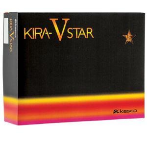 キャスコ ゴルフボール KIRA STAR V オレンジ(マット仕上げ) 1ダース 12個入り Kasco KIRA STAR V オレンジ