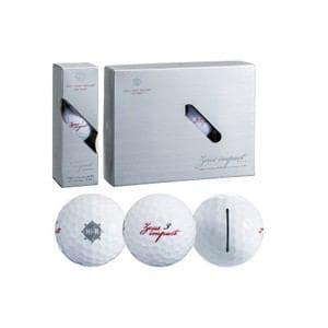 キャスコ ゼウスインパクト ゴルフボール 1ダース 12個入り(ホワイト) Zeusimpact ZEUS IP BALL 12P