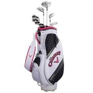 キャロウェイ レディース ゴルフクラブセット ソレイル パッケージセット ピンク《キャディバッグ付//W#1、W#5、6H、Ir#7、Ir#9、PW、SW、PT》
