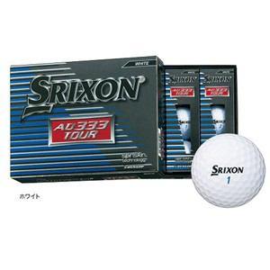 ダンロップ ゴルフボール 1ダース12球入り スリクソン AD333 TOUR ホワイト