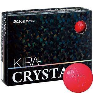 キャスコ KIRA CRYSTAL 1ダース 12個入り (レッド)