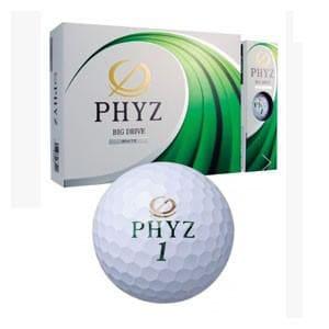 ブリヂストンゴルフ ゴルフボール PHYZ 1ダース 12個入り(ホワイト) Bridgestone P7WX