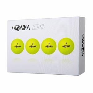 HONMA D1ゴルフボール12球入り イエロー ゴルフボール D1 12球入 イエロー