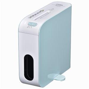 オーム電機 SHR-RM602T-A 卓上スリムシュレッダー ブルー