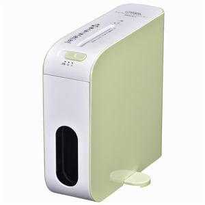 オーム電機 SHR-RM602T-G 卓上スリムシュレッダー グリーン
