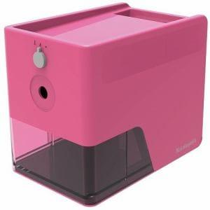 ナカバヤシ DPS-601KP  電動鉛筆削り スリムトレータイプ   ピンク