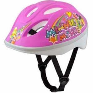アイデス 子供用ヘルメット キッズヘルメットS ミニーマウスPP(ピンク/53~57cm)