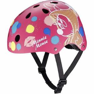 アイデス ストリートヘルメット ミニーマウス 子ども用ヘルメット