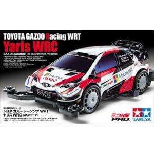 タミヤ 1/32 トヨタ ガズーレーシング WRT/ヤリス WRC(MAシャーシ) 「ミニ四駆PROシリーズ No.54」