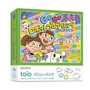 """toio バリューパック """"GoGo ロボットプログラミング ~ロジーボのひみつ~""""同梱版 TPHJ-10001"""
