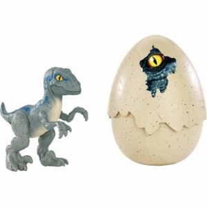 マテル  かえしてあそぼう!恐竜のたまご ブルー