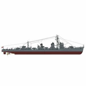 ハセガワ 40101 日本海軍 甲型駆逐艦 浜風 ミッドウェー海戦 スーパーディティール 1/350スケール プラモデル