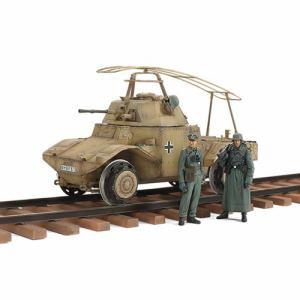 タミヤ  ドイツ鉄道装甲車P204(f)