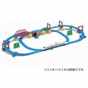 タカラトミー かっこいいがいっぱい! 新幹線N700S 確認試験車 立体レイアウトセット