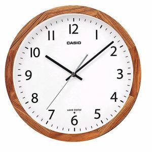 カシオ IQ1210J7JF 掛時計 アナログ電波掛時計
