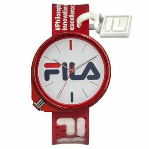 FILA 38-199-010 FILA STYLE 男女兼用サイズ 42mm RED/RED
