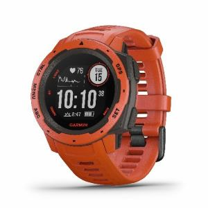 GARMIN 010-02064-32 Instinct Flame Red GARMIN Instinct GPS 心拍計 ABCセンター