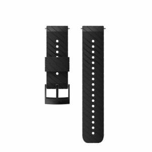 SUUNTO SS050155000 Strap 24BLACK STEEL M (ストラップ Suunto9 ほか) 正規品 Suunto9/Spartan sports WHR  ブラック