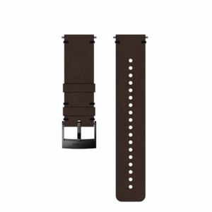 SUUNTO SS050232000 Strap 24BROWN/BLACKM (ストラップ Suunto9 ほか )正規品 Suunto9/Spartan sports WHR  ブラウン