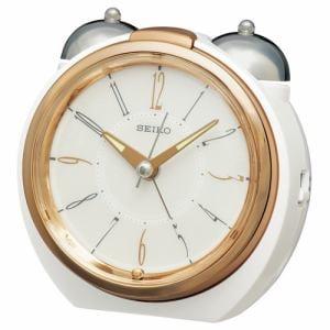 セイコークロック KR507W 目覚まし時計 SEIKO  銅色光沢仕上げ