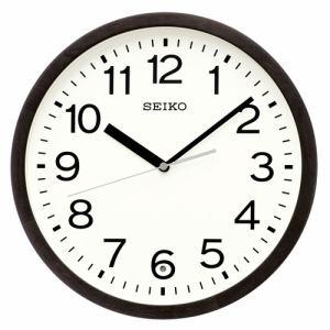 セイコークロック KX249K 電波掛け時計 SEIKO  黒