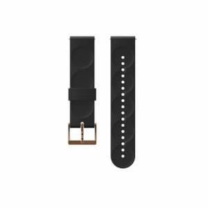 SUUNTO SS050214000 20M BLACK/COPPER STRAP Sサイズ(20mm ブラック ストラップ Sサイズ)正規品