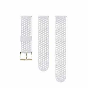 SUUNTO SS050179000 20M STRAP  WHITE GOLD S+M(3フィットネス  ホワイト ストラップ)正規品