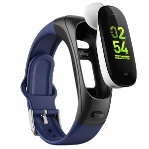 カボスマ-ト V08S/J/NV WO-SMART EarBand スマートウォッチ  ネイビ-