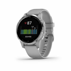 GARMIN 010-02172-07 vivoactive 4S Powder Gray / Silver GARMIN vivoシリーズ