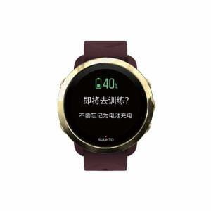 SUUNTO SS050211000 SUUNTO 3 G1 ZH BURGUNDY スント3 バーガンディー 国内限定販売 中国語対応モデル(日本正規品)