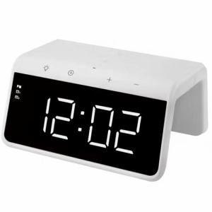 YAMADASELECT(ヤマダセレクト) YACWC258G1W ワイヤレス充電器付き時計 ホワイト