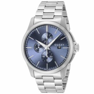 GUCCI YA126273 メンズ腕時計 Gタイムレスクロノ