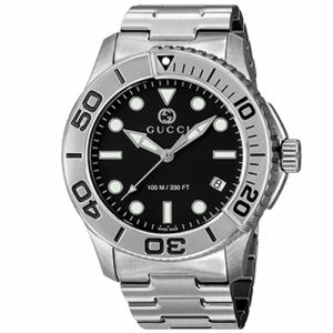 GUCCI YA126277 メンズ腕時計 ダイバー 並行輸入品