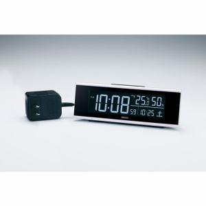 セイコークロック DL307W 電波目覚まし時計 シリーズ「C3」 白