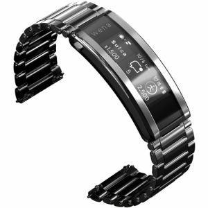 スマートウォッチ ソニー 腕時計 心拍数 Suica Alexa WNW-B21A S wena 3 metal Silver シルバー
