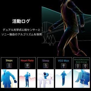 スマートウォッチ ソニー 腕時計 心拍数 Suica Alexa WNW-C21A B wena 3 leather Premium Black ブラック