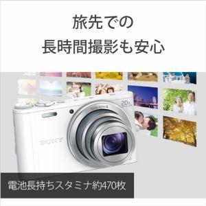 ソニー デジタルカメラ Cyber-shot(サイバーショット) DSC-WX350 B ブラック