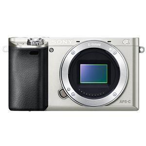 ソニー ILCE-6000-S デジタル一眼カメラ α6000 ボディ (シルバー)
