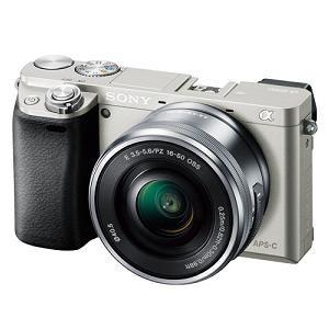 ソニー ILCE-6000L-S デジタル一眼カメラ α6000 パワーズームレンズキット (シルバー)